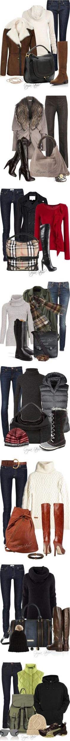 """""""Winter Style"""" by orysa on Polyvore by Lorelei_m"""