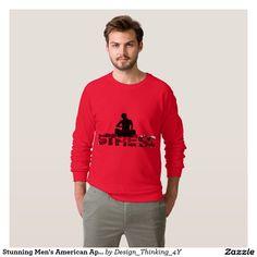 Stunning #Men's #American #Apparel #Raglan #Sweatshirt.