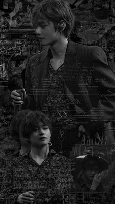 Bts Bangtan Boy, Bts Boys, Bts Jimin, Bts Black And White, Black And White Aesthetic, Taehyung Fanart, V Taehyung, Bts Aesthetic Pictures, Cha Eun Woo