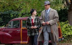 Jessica Raine and David Walliams in Partners in Crime: 'lost its nostalgic charm' - Telegraph