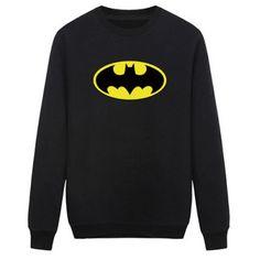 Batman Logo Long Sleeve Men's Sweatshirt