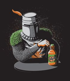 "The Most Interesting Knight in the World: ""I don't always praise the sun but when I do, it's Sunny D!"""