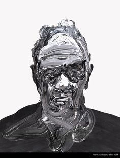 """""""Frank Auerbach"""" Oil Painting from TS Frank Auerbach, Abstract Portrait, Portrait Art, Art Brut, Identity Art, A Level Art, Life Drawing, Art Plastique, Contemporary Paintings"""