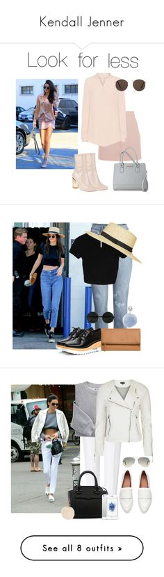 """""""Kendall Jenner"""" by anaraquellinares ❤ liked on Polyvore featuring iHeart, Nine West, MANGO, JY Shoes, Topshop, Urban Originals, ESCADA, Blair, Rebecca Minkoff and Ray-Ban"""