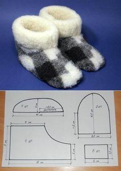 Domácí zimní obutí