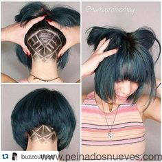 Peinados Oculto Socavar - Peinados