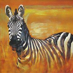 Hand-painted Animal Oil Painting - Zebra  $69.99  http://www.oilpaintingsstore.com/hand-painted-animal-oil-painting-zebra.html#