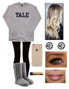 """""""✨☺️✊"""" by daphnemoon100301 ❤ liked on Polyvore featuring UGG Australia and Burt's Bees"""