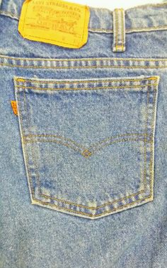 Mens Levis 550 Relaxed Fit Blue Jeans Size 36x30   Natural Faded Blue Orange Tag | Clothing, Shoes & Accessories, Men's Clothing, Jeans | eBay!