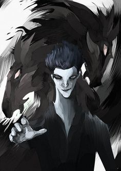 Pitch by Wonderlame on deviantART } Pitch Black } Rise of the Guardians <3