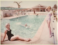 1950's pool party.