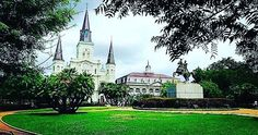 Beautiful!  #jacksonsquare #neworleans #nola #frenchquarter #photography #landscape #church #cathedral #vsco #vscocam #travel #gopro #instatravel #instalike #instaphoto #vacation #memorialday #stlouiscathedral #louisiana #south #southeast #beautiful by caycedrobek