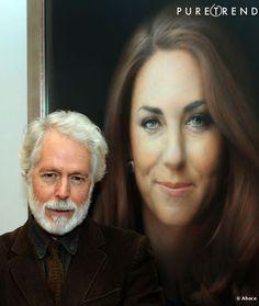 Paul Emsley le peintre du portrait officiel de Kate Middleton.