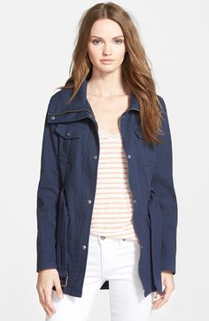 GUESS Belted Utility Jacket available at Utility Jacket, Get Dressed, Fashion Forward, Fashion Beauty, Nordstrom, Belt, My Style, Sweatshirts, How To Wear