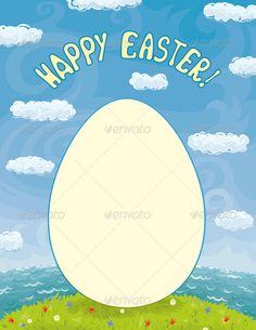 Easter Include Photo Cutting Templates  Scrapbook Layouts