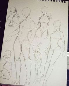Anime poses, bodies, upward perspective, male and female art in 2019 drawin Anatomy Drawing, Manga Drawing, Drawing Sketches, Art Drawings, Sketching, Female Drawing, Female Art, Drawing Base, Figure Drawing