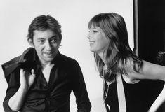 Serge Gainsbourg et Jane Birkin sur le tournage du clip de Melody Nelson en septembre 1971