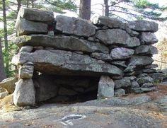 AMERICAN STONEHENGE AT MYSTERY HILL, New Hampshire USA
