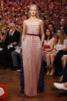 Daria Strokous in Christian Dior Fall 2012 Couture