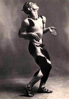 Nijinsky in L'Après-midi d'un Faune (1912)
