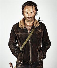 """The Walking Dead - EW character portraits"" Rick Grimes"