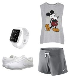 """Untitled #12"" by hongjina on Polyvore featuring Nike Golf, Topshop, NIKE and Apple"