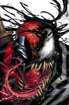 Deadpool Venom by Tyler Kirkham