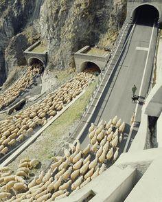 El paso de San Boldo es un pequeño puerto de montaña en la región de Veneto italiano