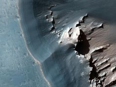 Picture of Noctis Labyrinthus, a valley system on the surface of Mars