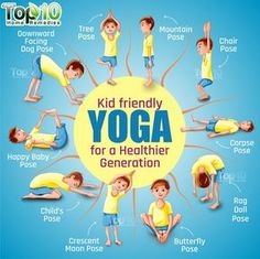 10 Amazing Yoga Poses for Your Kids to Keep Them Fit and Healthy | Top 10 Home Remedies