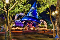 Farewell Old Friend! The Sorcerer's Hat will be removed from Disney's Hollywood Studios beginning January 7, 2015.