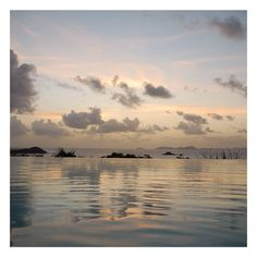 """""""A little slice of midweek calm. #sunset #mustique"""" Photo taken by @pinkhousemustique on Instagram, pinned via the InstaPin iOS App! http://www.instapinapp.com (04/08/2015)"""