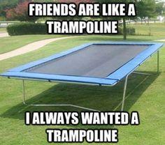 Trampoline - Meme Picture