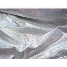 Silver Hologram Fog Finish Lycra