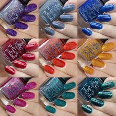The Fall for Me collection contains a variety of colors and finishes so you're sure to find something to love! Shop now at potionpolish.com!