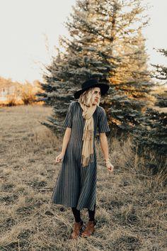 Marie Stripe Dress | ROOLEE