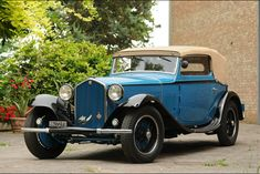 1932 Alfa Romeo 6C 1750 GTC CABRIOLET - coachwork by Carrozzeria Touring Superleggera of Milan.