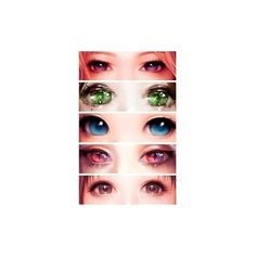 ✪°✧EpicwallCZ✧°✪ ❤ liked on Polyvore featuring eyes