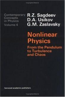 Nonlinear Physics (Ettore Majorana International Life Sciences Series,) , 978-3718648290, Sagdeev Usikov, CRC Press; 4th edition Chaos Theory, Open Book, Life Science, Mathematics, Good Books, Physics, Reading, Math, Reading Books