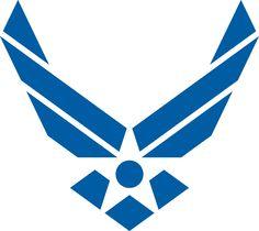 air force logo clip art clipart best clipart best air force rh pinterest com air force clip art frame air force clip art for opsec puzzle