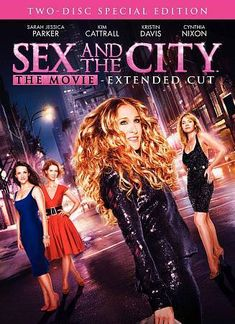 Sex and the City The Movie DVD, 2008, 2-Disc Set, Widescreen Special Edition