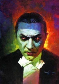 Dracula by Basil Gogos.