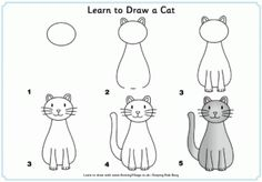 Learn To Draw A Cat
