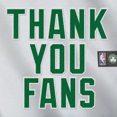 Thank you to the best fans in professional sports for an amazing season. Check out Celtics.com for a 2-minute tribute video to you. #iamaceltic #letsgoceltics #boston #celtics #bostonceltics #iamaceltic #nba #fans @tdgarden