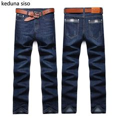 95db82a134 2016 Winter Mens Biker Jeans Men homme Casual Thick Denim Straight Design  Male Famous Brand Clothing Fog Jeans Men hombre CHOLYL-in Jeans from Men s  ...