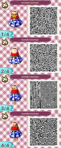 Wonderwoman qr dress! I made this in May and meant to publish it, but I was awfully busy.