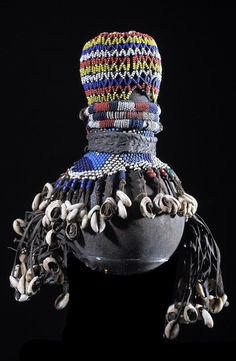"Africa | ""Ham Pilu"" dool from the Fali people of Cameroon 