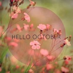 Hello October quotes months october