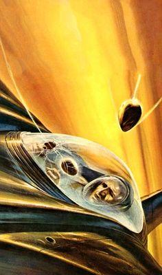 John Schoenherr - The Space Egg, 1962.