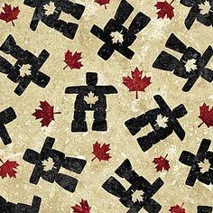 Stonehenge - Oh Canada III - Tossed Black Inuksuk